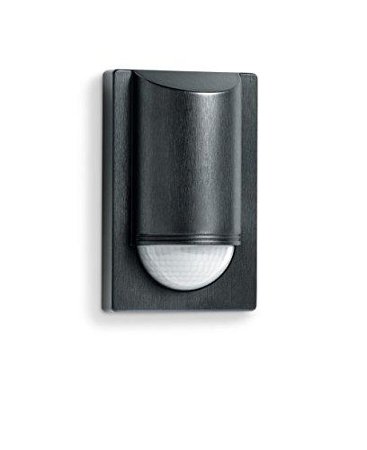Steinel Infrarot-Bewegungsmelder IS 2180-2 schwarz, 180°|12 m Sensor, 1000 W, Unterkriechschutz, inkl. Eckwandhalter