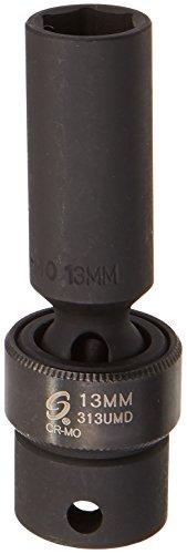 Sunex 313umd 3/8-Inch Drive 13-Mm Deep Universal Impact Socket