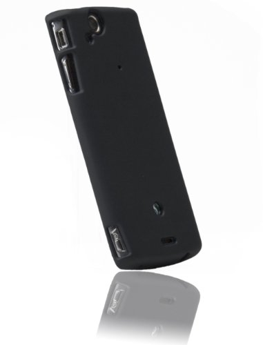 Krusell 89568 ColorCover Custodie per Sony Ericsson Xperia Arc S, Nero