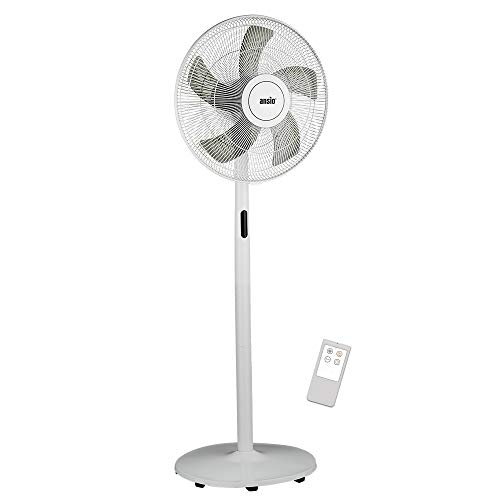 ANSIO Pedestal Fan with Remote Control - 8 Speed Level Stand Fan -16 inch...