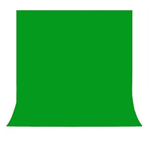 PHOTO MASTER 1,6 m x 3m Grün Grau Hintergrund Chromakey Green Screen Fotostudio Fotostudio für Hintergrund Ständer/Beleuchtung Kit/Video 300 cm x 160 cm Hintergründen
