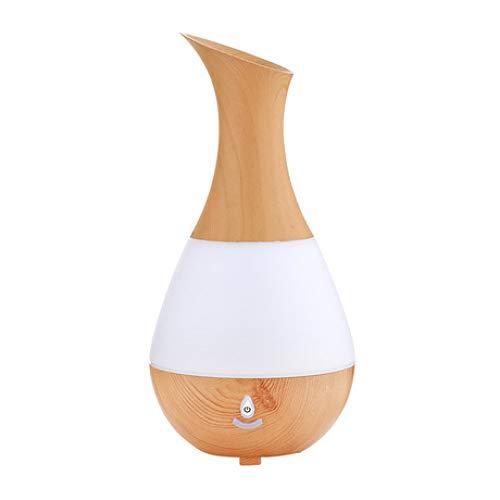 SUNHAO Humidificateur Aromatherapy Night Light Vase de Voiture Humidificateur USB Aromatherapy muet
