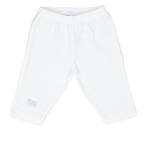 FEETJE Pantalon – Bébé Pantalon Sweat Unisexe 522.149 - Blanc - 50 cm