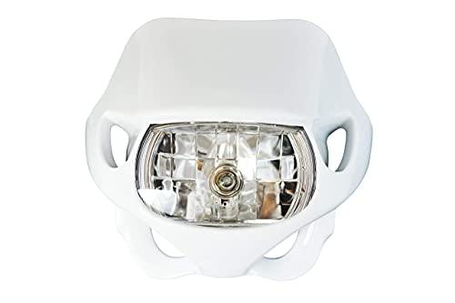 Motocross Headlightfo R 2V/35W en Blanc pour Motocross et Enduro Modèles