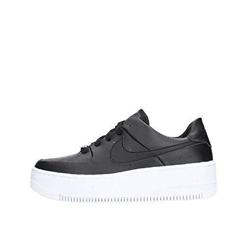 Nike W Af1 Sage Low, Chaussures de Fitness Femme, Noir (Black/Black/White 002), 41 EU