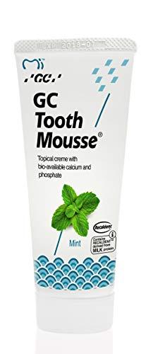 Gc Tooth Mousse Protección Diente Crema De Menta, 1-Pack (1 X 40 G) ⭐