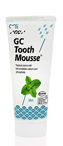 Gc Tooth Mousse Protección Diente Crema De Menta, 1-Pack (1 X 40 G)