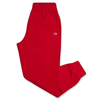 Champion Sweatpants Men Big and Tall Workout Lounge Joggers Red 3X