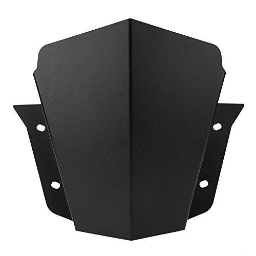 KIMISS Protector de Lunas y deflectores de viento negro de modificado del Motocicleta para MT-09 2014-2016