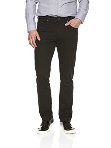 Michaelax-Fashion-Trade Atelier Gardeur - Regular Fit - Herren 5-Pocket Jeans mit Komfortbund,Farben Stone Blue(67), Dark Blue(69) und Black(99), Nevio-1 (470181), Größe:W40/L34, Farbe:Schwarz (99)