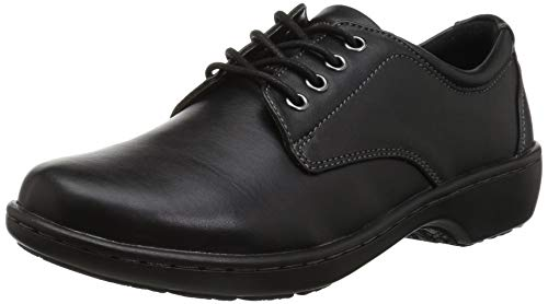 Eastland Women's Pandora Oxford, Black, 8.5 W US