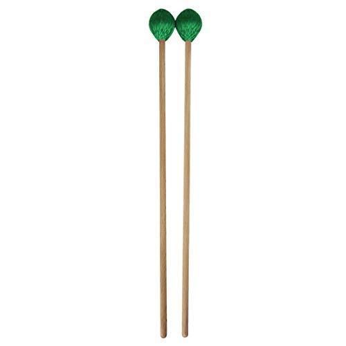 Professionelle Xylophon Marimba Hammer Marimba Hammer Musical Zubehör Musikinstrument Zubehör (Color : Green)