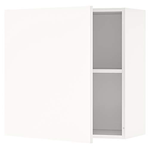 KNOXHULT armario de pared con puerta 60x31x60 cm blanco