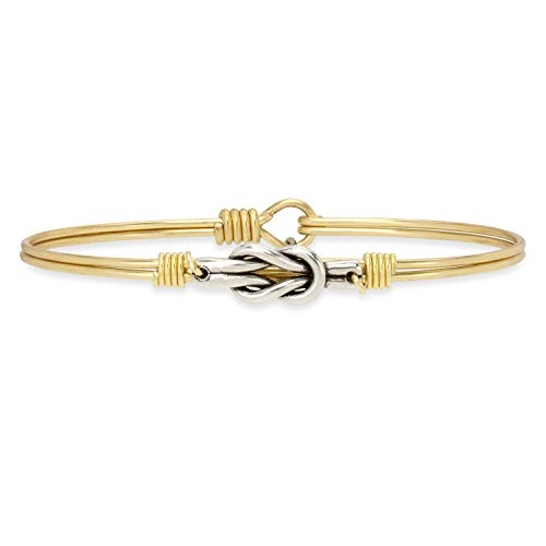 Luca + Danni | Love Knot Bangle Bracelet For Women Made in USA - coolthings.us