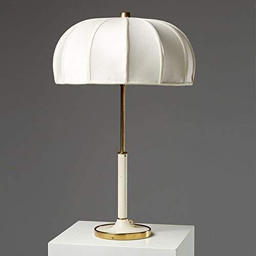 LCSD Lámpara de mesa moderna minimalista lámpara de salón LED tejido entre el nuevo modelo chino lámpara de estudio 1 mesita de noche * E27 (37 cm x 60)