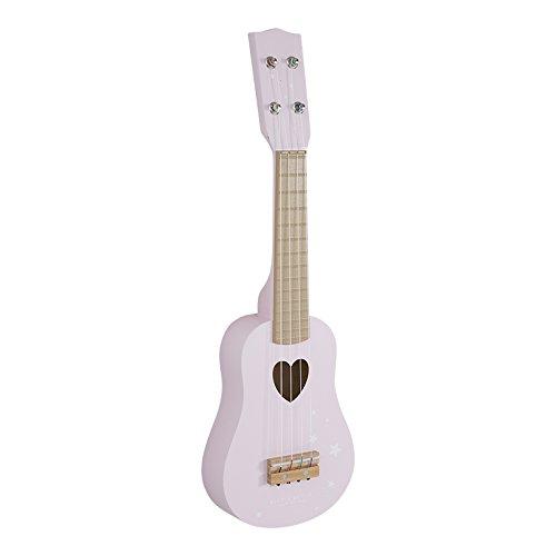 Little Dutch 4408 Kinder Gitarre Kindergitarre aus Holz, Adventure pink