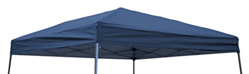 Trademark Innovations Square Replacement Gazebo Top for 10' Slant Leg Canopy, 8' x8', Blue