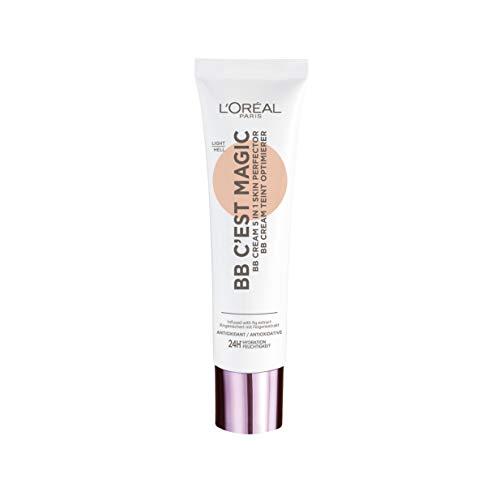 L'Oréal Paris BB C'est Magic Hell, Blemish Balm Cream (BB Cream) für einen natürlich wirkenden Teint, feuchtigkeitsspendend, 30ml