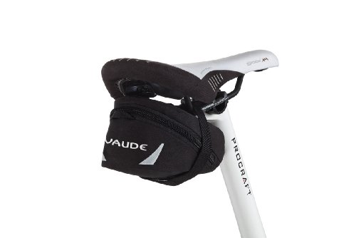 VAUDE Satteltaschen Tube Bag M, black, One Size, 111010100