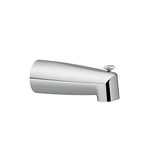 MOEN 3830 Collection Replacement Tub Diverter Spout 1/2-Inch IPS Threaded Connection, Chrome (Ips Diverter)