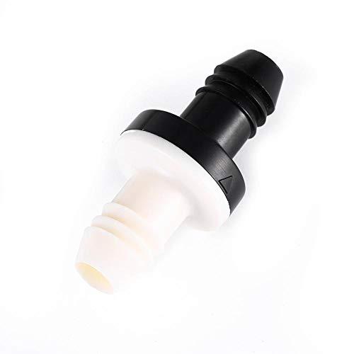 3/8 10 MM Silikonkautschuk Inline-Rückschlagventil Flüssige Luft Einweg-Rückschlagventil für Wasser Kraftstoff Gas Flüssige Luft in der Aquarium-Rohrleitung