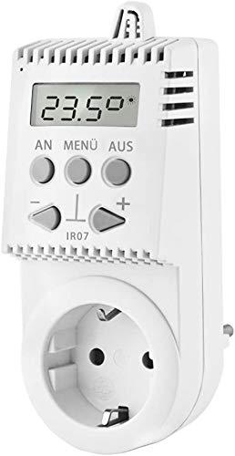 Ecowelle Steckerthermostat IR07 Thermostat für Infrarotheizung und andere Elektroheizungen (1)