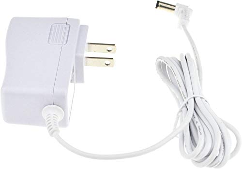 Samyo 24V 0.65A AC to DC Adaptor Switching Power Supply Replacement Cord Cable for 100ml / 120ml / 300ml / 500ml Essential Oil Diffuser UL Listed 5.7Ft - White
