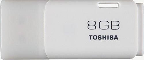 TOSHIBA USBメモリ 8GB USB2.0 キャップ式 ホワイト 1年保証 (国内正規品) TNU-A008G