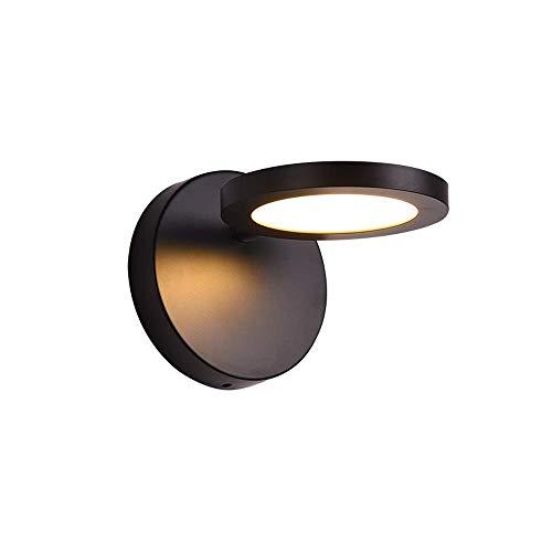 Nordic creatieve persoonlijkheid leeslamp wandlamp modern hal slaapkamer nachtkastje hotel LED achtergrond eenvoudige muur LED wandlamp lantaarn wandlamp hoofd verstelbaar (licht