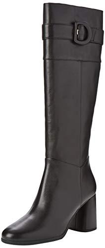 Geox Damen D CALINDA HIGH D Hohe Stiefel, Schwarz (Black C9999), 35 EU