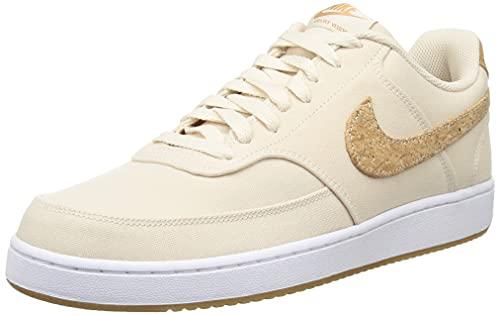 Nike Court Vision Lo Canvas Pearl - Sneaker da uomo, colore: Bianco/Multicolore, Multi Color bianco perlato, 44.5 EU