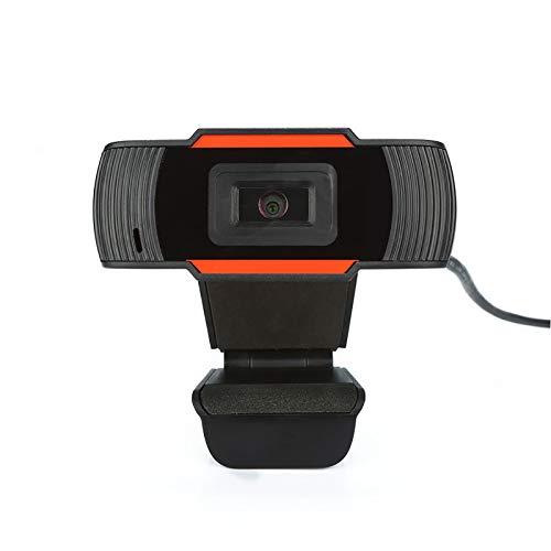 LSQJNDM Webcam HD Web Camera, USB PC Computer Webcam con micrófono, Laptop Desktop Full HD Camera Video Webcam Widescreen, Webcam para grabación, Llamadas, conferencias, Juegos