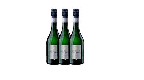 Geldermann Carte Blanche Sekt aus traditioneller Flaschengärung (3 x 0.75 l)