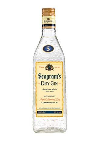 Seagram`s Dry Ginebra Premium - 1 L