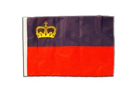 Flagge / Fahne Liechtenstein + gratis Sticker, Flaggenfritze®