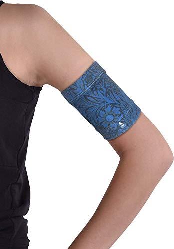 Dia-Band, Glucose Sensor Schutz Armband Freestyle Libre, Medtronic, Dexcom oder Omnipod – Komfortabel wiederverwendbares Diabetikband. (M (27-31 cm)