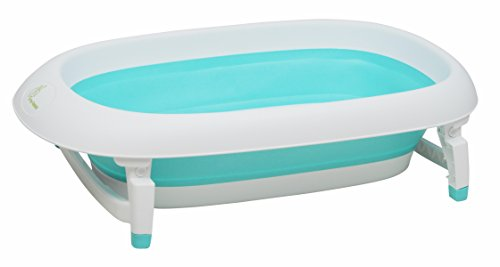 R For Rabbit Smart Baby Bath tub Bubble Double Elite with Temperature Sensitive Plug Folding Baby Bath Tub for Kids of 0 to 3...