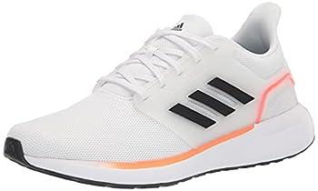 adidas Men s EQ19 Trail Running Shoe White/Carbon/Solar Red 12