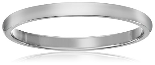 2MM Stainless Steel Comfort Fit Wedding Band High Polished Classy Domed Ring , Size 10.5