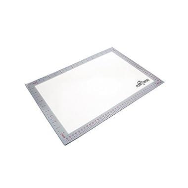 Fox Run 4722 Non-Stick Baking Mat, Silicone, 11.75-Inch x 16.5-Inch