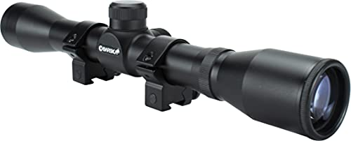 BARSKA 4x32 Plinker-22 Riflescope Black Matte, 4x32mm