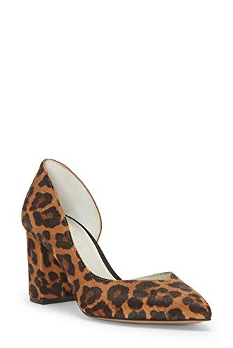1.STATE Women's Shoes Sisteen Leather Pointed Toe, Whiskey Multi, Size 5.5