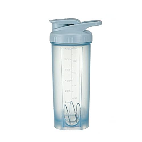 LCK 700ml Shake Cup Milkshake Sports Botella de Deportes Aptitud al Aire Libre Agua Taza Proteína Polvo Mezcla Taza Portátil Gimnasio Entrenamiento Bebida