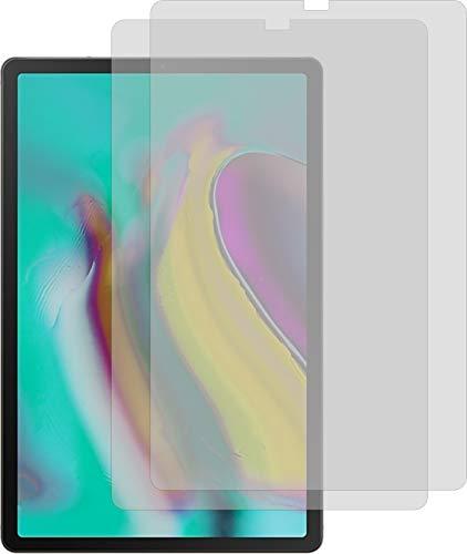 Samsung Galaxy Tab S5e 2X ANTIREFLEX matt Schutzfolie Bildschirmschutzfolie Displayschutzfolie Schutzhülle Bildschirmschutz Bildschirmfolie Folie
