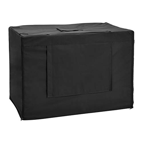 Amazon Basics Dog Crate Kennel Cover - 36-Inch, Black
