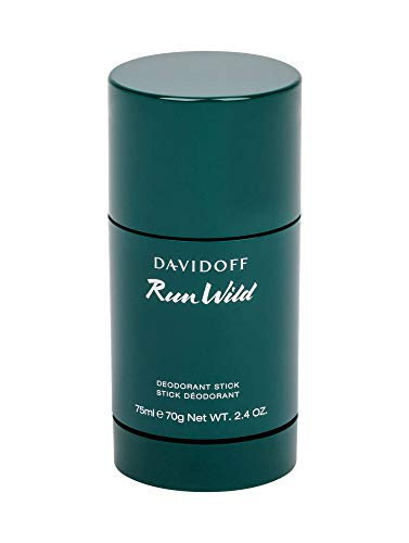 DAVIDOFF Run Wild for Him Deodorant Stick, Deostift mit frisch-orientalischem Duft für Herren, 75 ml