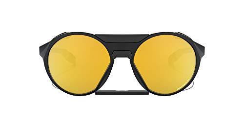 Oakley Unisex Clifden Sonnenbrille, Schwarz, 0