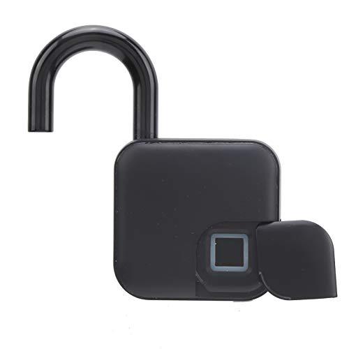 Candado inteligente con huella dactilar Bluetooth sin llave Candado antirrobo USB recargable para puerta de armario dormitorio para Tuya IP65 Impermeable para gimnasio Equipaje Mochila