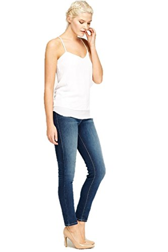 Ex Zara Damen Jeanshose Gr. 36, dunkelblau
