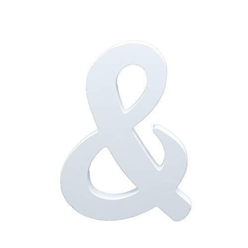 Besch Letras de Madera mayúscula Decorativa 14CM (&)